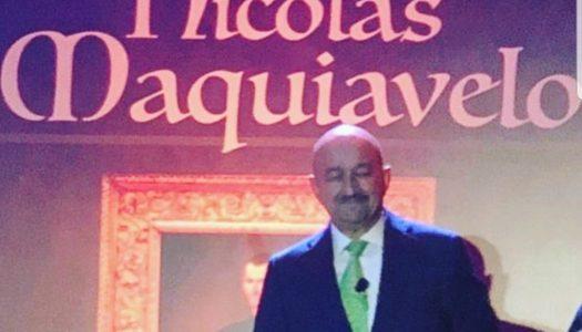 """Salinas da """"cátedra"""" sobre Maquiávelo y alerta: México está en riesgo"""