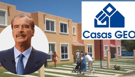 Casas GEO, una de las constructoras favoritas de Fox, en bancarrota
