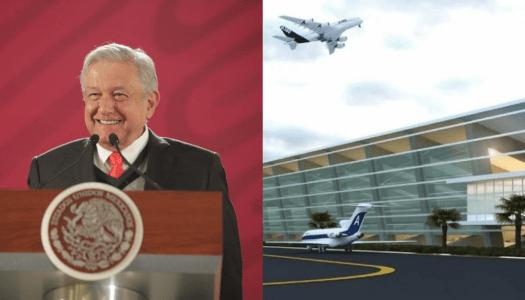 AMLO: En enero inicia la construcción del aeropuerto de Santa Lucía