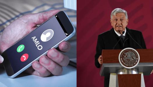 Desatan guerra sucia telefónica para vincular a AMLO con accidente en Puebla