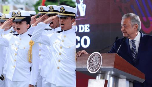 Estudia tu carrera en la Secretaría de Marina del gobierno de AMLO