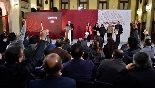Conferencia de prensa de AMLO (18/01/2019) | En vivo