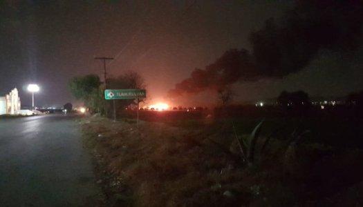 Saldo de la explosión en Tlalhuelilpan