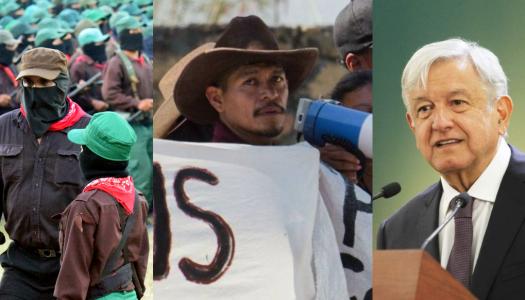 EZLN y CNI culpan al gobierno de AMLO del asesinato de Samir Flores