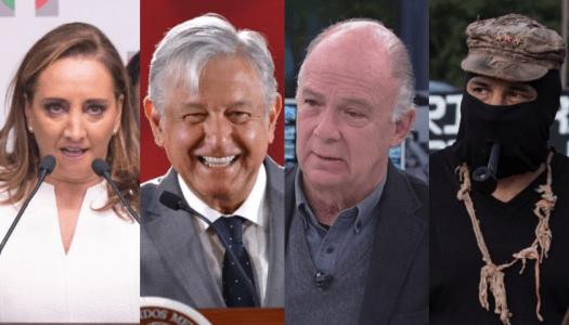 Ternuritas, priistas y zapatistas: la fragmentada oposición a AMLO