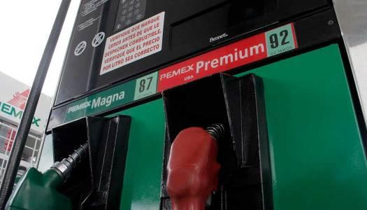 Gasolina magna no bajará mañana 1.50 pesos. Sólo 15 centavos