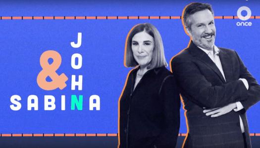 Al rescate de la televisión: John&Sabina, el primer programa de la 4T