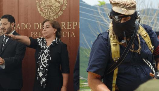 Hermana del Subcomandante Marcos ya es senadora del PRI