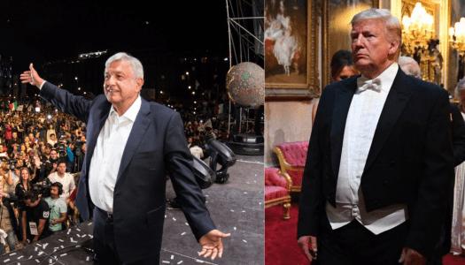 AMLO mueve sus piezas contra Trump: convoca a acto masivo en Tijuana