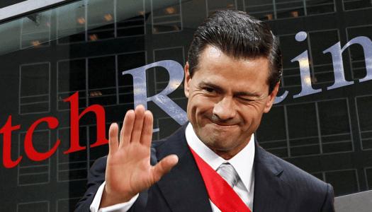 Gobierno de EPN pago 25 millones a calificadoras por opiniones favorables