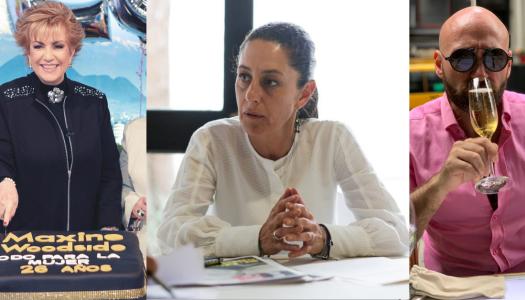 Pedro Ferriz y Maxine Woodside difunden fake news para atacar a Claudia Sheinbaum