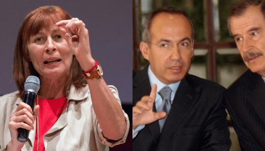 Fox y Calderón, detrás de la marcha contra AMLO: Tatiana Clouthier
