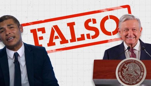 Falso: Conacyt con AMLO no contrató a Callo de Hacha
