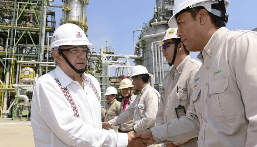 Con AMLO, refinerías de Pemex terminarán el año produciendo 1 millón de barriles diarios