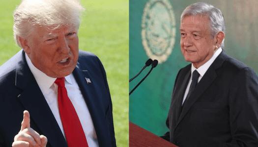 Trump amenaza con deportar miles de indocumentados; AMLO le pide prudencia
