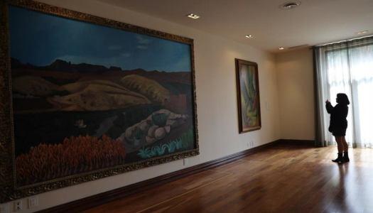 Exhiben en Los Pinos las pinturas que no se robaron los ex Presidentes del PRIAN