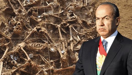 Desde que Calderón se volvió Presidente se han localizado más de 3 mil fosas clandestinas