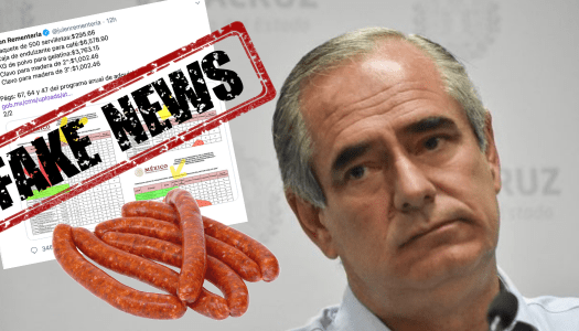 #Longanizagate, la fake news de un senador del PAN para atacar a AMLO