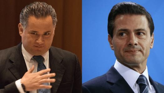 Santiago Nieto va con todo contra Peña Nieto, el líder de la red corrupción
