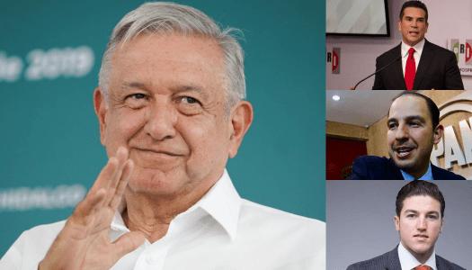 """AMLO tacha de """"farsantes"""" a políticos del PRI, PAN, PRD y MC por defender a factureros"""