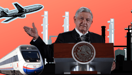 Tren Maya, Santa Lucía y Dos Bocas, las prioridades de AMLO en 2020