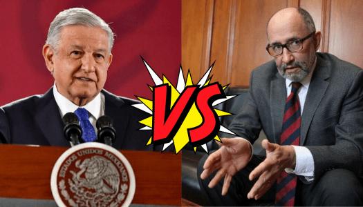 Estas son las claves del enfrentamiento entre AMLO y Cossío por Santa Lucía