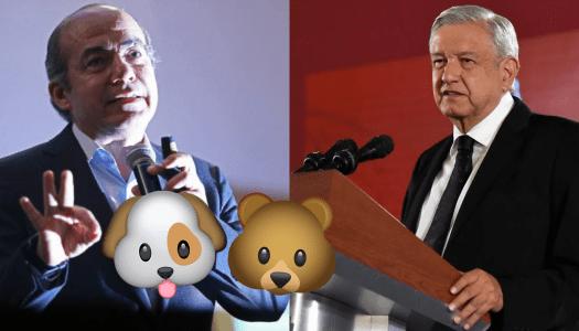 Felipe Calderón vuelve a hacer el oso con tuit contra AMLO