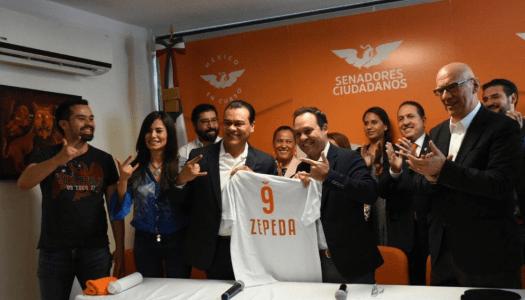 """MC se abalanza por los restos y sobras del PRD: """"fichó"""" a Juan Zepeda"""