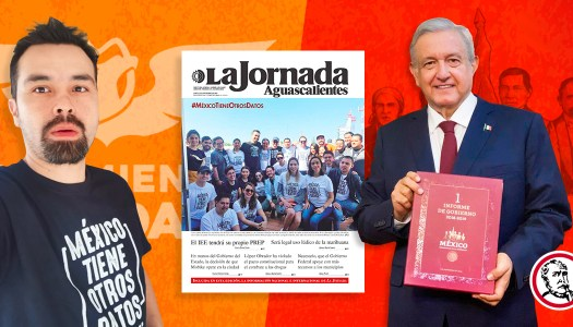 Álvarez Máynez, el político de MC que usa a La Jornada para golpear a AMLO