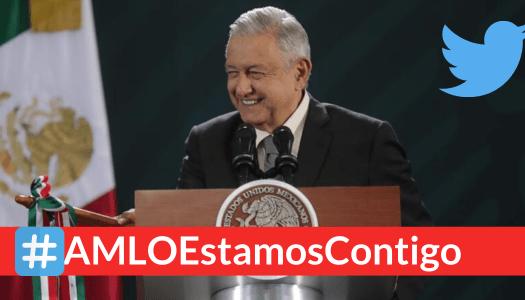 Miles respaldan a AMLO en Twitter por evitar masacre en Culiacán