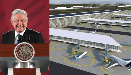 Así inicia la construcción del aeropuerto de Santa Lucía