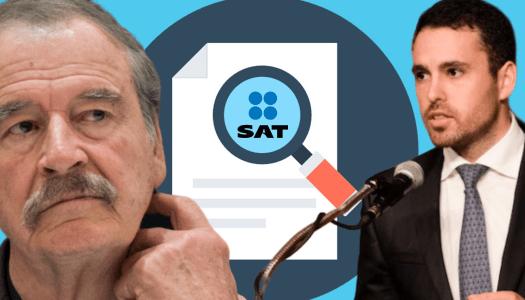 Fox y su socio se niegan a pagarle 1.4 millones al SAT
