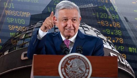 Con AMLO,  el riesgo país de México en su menor nivel