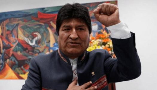 Personalidades de México se solidarizan con Evo Morales y rechazan golpe en Bolivia