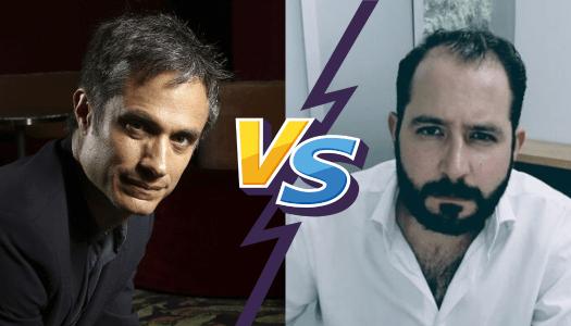 Gael García pone en su lugar a Majluf; dice no estar arrepentido de votar por AMLO