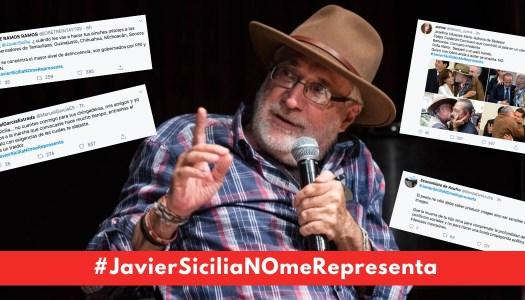 """Tuiteros retiran apoyo a Javier Sicilia: """"eres un traidor"""", le reclaman"""