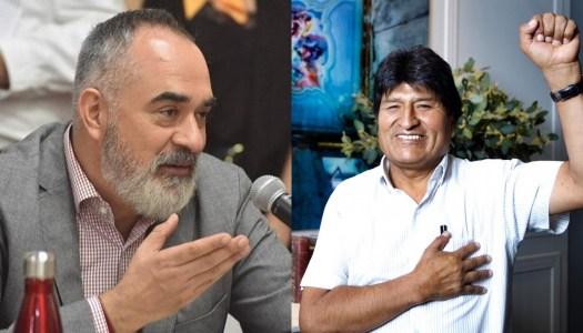 El reaccionario diputado de MC y el asilo de Evo Morales en México
