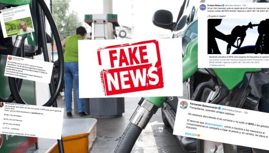Medios y opositores inventan fake news de gasolinazo para pegarle a AMLO