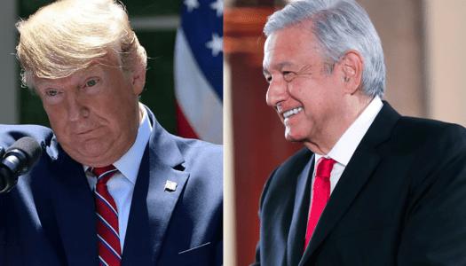 AMLO detiene otra vez amenazas de Donald Trump