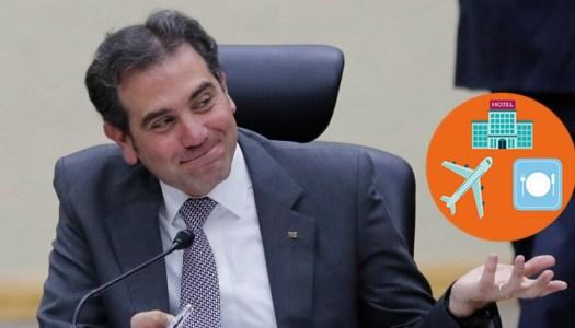 INE despilfarró el dinero del 2019 en viajes, autos y comidas