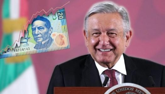 Con AMLO, el peso se apreció en 2019 e inicia fuerte en 2020