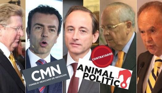 Animal Político trabaja para empresarios antiAMLO