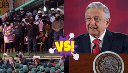EZLN se une a los fifís; convocan a marchar contra AMLO