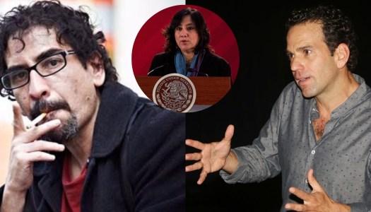 Fabrizio Mejía exhibe a Loret y desmiente montaje contra Irma Sandoval