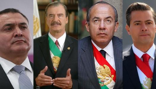 Así fue como García Luna se benefició con Fox, Calderón y EPN
