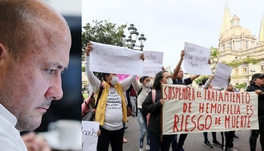 Jalisco tiene sólo 2 meses de medicina contra el cáncer… y Alfaro no acepta el INSABI