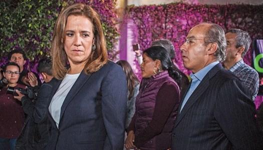 Felipe Calderón y Margarita Zavala se indignan ante acusación de fraude