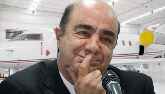 Con EPN, hasta Murillo Karam se movía en un lujoso avión
