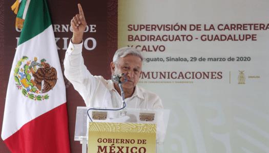 Conferencia de prensa mañanera de AMLO (31/03/2020)