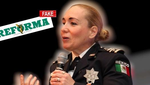 Reforma vuelve a mentir: Rosalinda Trujillo sigue en la Guardia Nacional